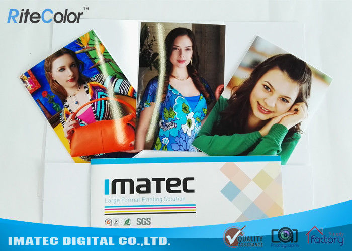 240 Gram Cast Coated Photo Paper Glossy For Desktop Inkjet Printers