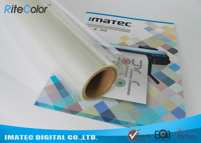 Matte Fully Clear Inkjet Screen Printing Film PET Based Positive Films Roll