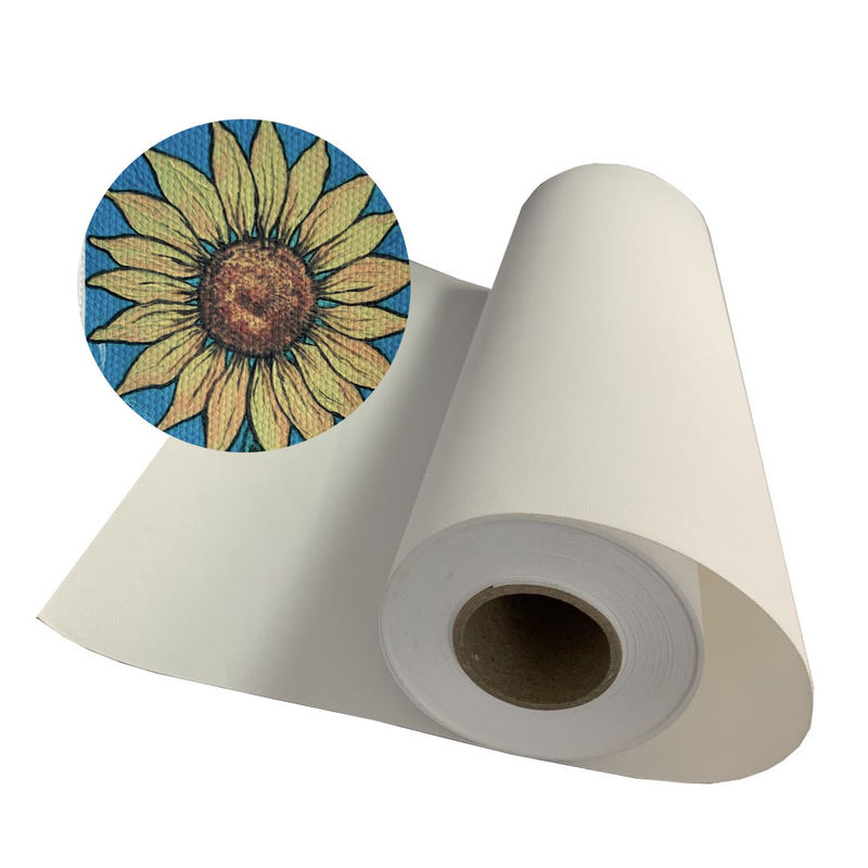 "Blank Inkjet printed Polyester Canvas Roll 24"" 36"" With Eco Solvent Inks"