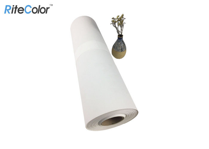 Large Format 420gsm Printable Inkjet Cotton Canvas For Digital Inkjet Printing