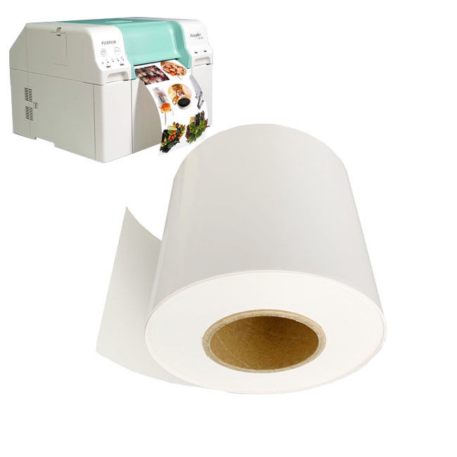 Inkjet RC Minilab Glossy Luster dry lab Photo Paper Roll For Fuji Dx100