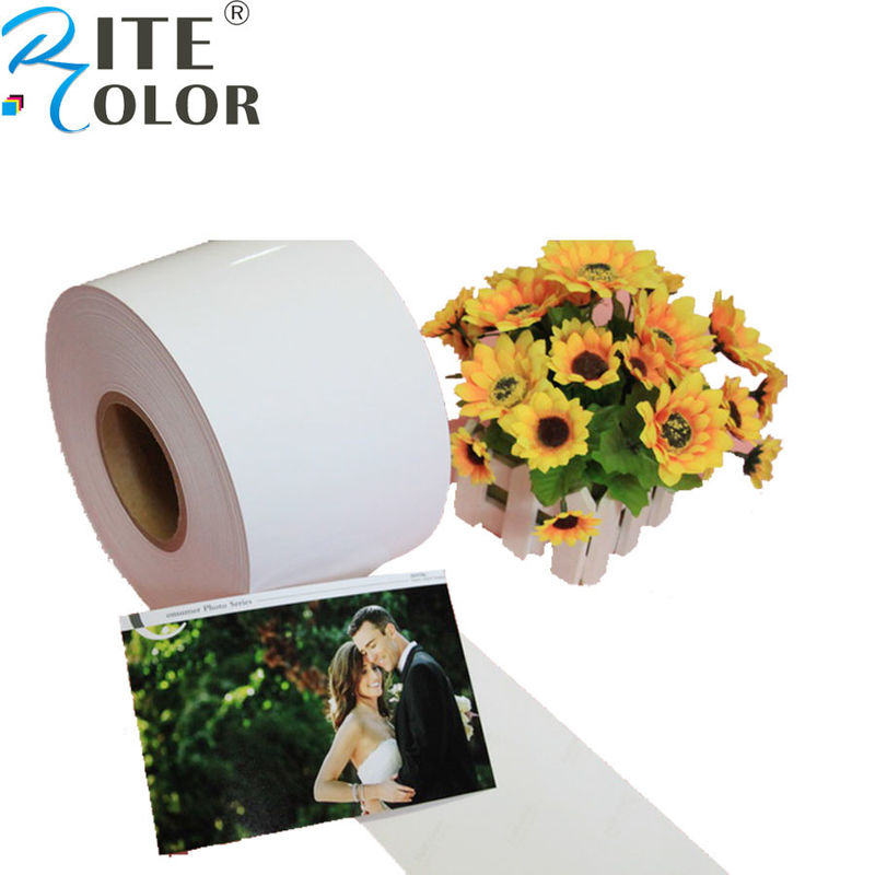 Resin Coated Minilab Photo Paper Digital Inkjet Printing For Epson D700