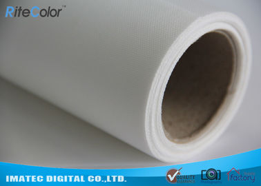 China Lona estirable impermeable Rolls 260Gsm del poliéster para el cartel/la exhibición distribuidor